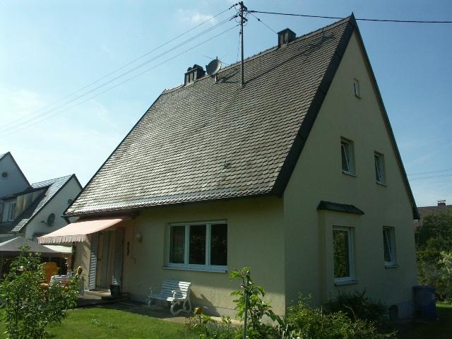Einfamilienhaus Neusäß Augsburg Eisenbahnersiedlung