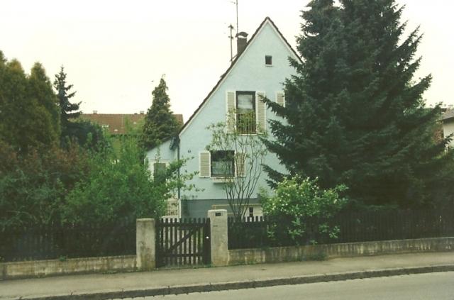 Einfamilienhaus Augsburg Bergheim