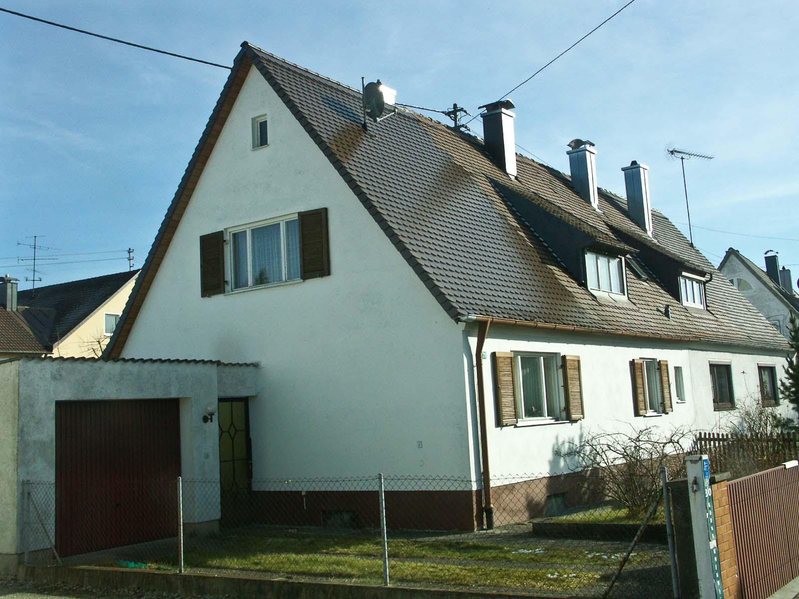 Doppelhaus Augsburg Bärenkeller