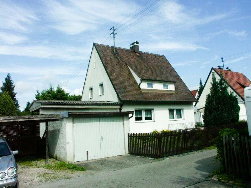 Einfamilienhaus Neusäß Eisenbahnersiedlung Bärenkeller