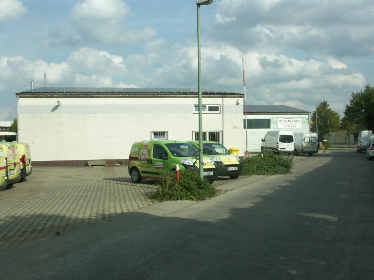 Gewerbehalle Lage Augsburg Lechhausen Industriegebiet