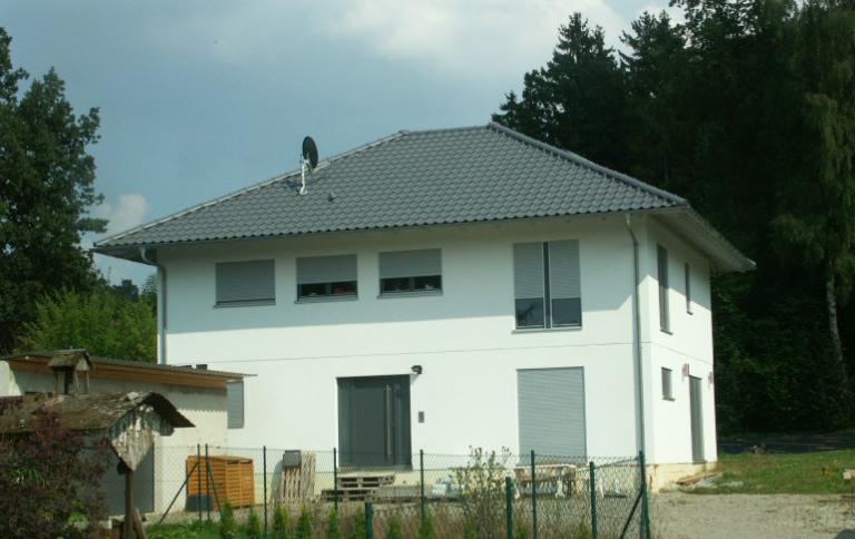Grundstück Diedorf bebaut