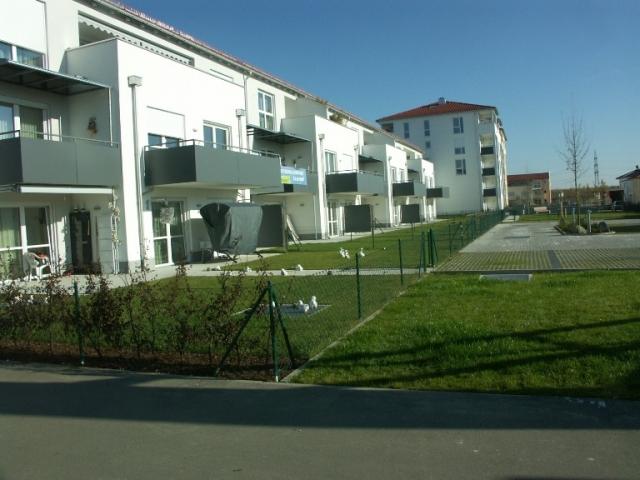 Grundstück Göggingen bebaut